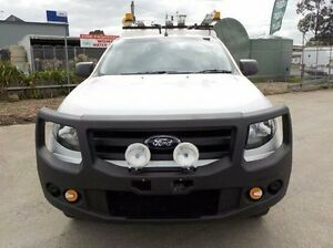 2012 Ford Ranger White Manual Cab Chassis Pakenham Cardinia Area Preview