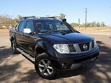 2009 Nissan Navara D40 Titanium Cosmic Black 6 Speed Manual Utility Stuart Park Darwin City Preview