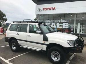 2000 Toyota Landcruiser HZJ105R GXL White 5 Speed Manual Wagon Mornington Mornington Peninsula Preview