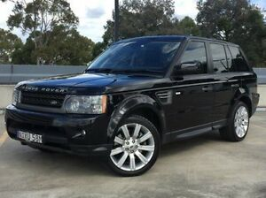 2011 Land Rover Range Rover Sport L320 11MY TDV6 Luxury Black 6 Speed Sports Automatic Wagon Kings Park Blacktown Area Preview