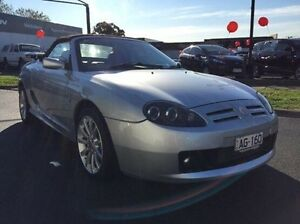 2003 MG TF 160 Silver 5 Speed Manual Roadster Heidelberg Heights Banyule Area Preview