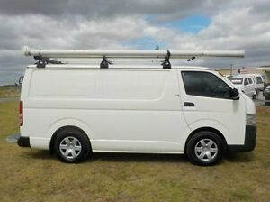 2008 Toyota Hiace White Manual Van Pakenham Cardinia Area Preview
