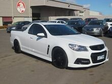 2014 Holden Ute VF MY15 SV6 Ute White 6 Speed Manual Utility Coolaroo Hume Area Preview