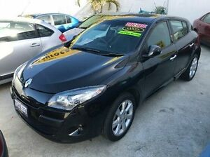 2013 Renault Megane III B32 MY12 Privilege EDC Black 6 Speed Sports Automatic Dual Clutch Hatchback Welshpool Canning Area Preview