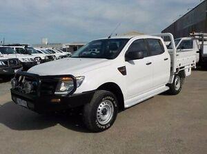 2012 Ford Ranger White Sports Automatic Utility Pakenham Cardinia Area Preview
