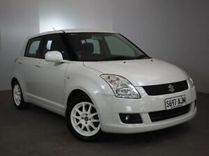 2010 Suzuki Swift RS415 White 5 Speed Manual Hatchback Mount Gambier Grant Area Preview
