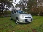 2013 Nissan Micra K13 MY13 ST-L Silver 4 Speed Automatic Hatchback Old Reynella Morphett Vale Area Preview