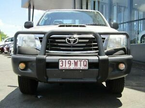 2011 Toyota Hilux KUN26R MY12 SR Double Cab Silver 5 Speed Manual Utility Earlville Cairns City Preview