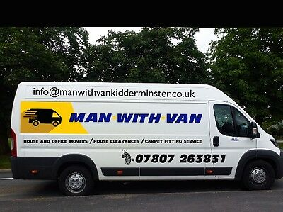 Cheap man with a  van removals Kidderminster Bewdley Moves delivery's to London