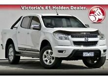 2012 Holden Colorado  White Sports Automatic Utility Mulgrave Monash Area Preview