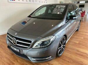 2012 Mercedes-Benz B250 246 MY13 BE Grey 7 Speed Auto Direct Shift Hatchback Batemans Bay Eurobodalla Area Preview