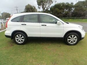 2011 Honda CR-V RE MY2010 4WD White 5 Speed Automatic Wagon Silver Sands Mandurah Area Preview