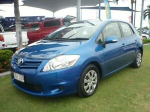 2011 Toyota Corolla ZRE152R MY11 Ascent Blue 4 Speed Automatic Hatchback Townsville Townsville City Preview