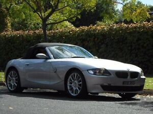 2006 BMW Z4 E85 MY07 M Silver 6 Speed Manual Roadster Prospect Prospect Area Preview