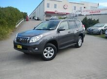 2012 Toyota Landcruiser Prado KDJ150R GXL Grey 5 Speed Sports Automatic Wagon Windsor Hawkesbury Area Preview