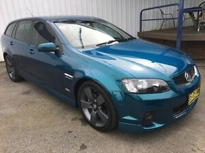 2012 Holden Commodore VE II MY12.5 SV6 Sportwagon Z Series Blue 6 Speed Sports Automatic Wagon Wodonga Wodonga Area Preview
