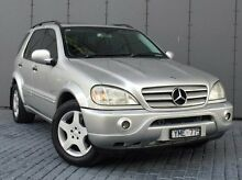 2001 Mercedes-Benz ML55 W163 AMG Silver 5 Speed Sports Automatic Wagon Southbank Melbourne City Preview