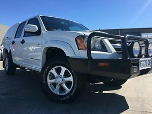 2011 Holden Colorado RC MY11 LX Crew Cab White 4 Speed Automatic Utility Invermay Launceston Area Preview