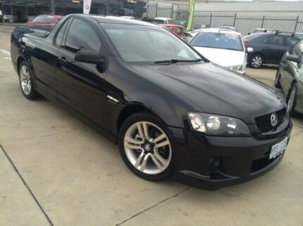 2009 Holden Ute VE MY09.5 SV6 Black 5 Speed Auto Seq Sportshift Utility Fyshwick South Canberra Preview