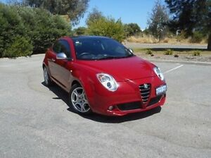 2013 Alfa Romeo Mito MY12 Progression TCT Red 6 Speed Sports Automatic Dual Clutch Hatchback East Rockingham Rockingham Area Preview