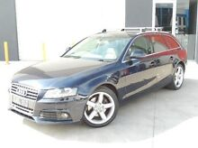 2009 Audi A4 B8 8K Avant Multitronic Blue 8 Speed Constant Variable Wagon Meadow Heights Hume Area Preview