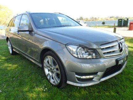 2014 Mercedes-Benz C250 CDI W204 MY14 Avantgarde Estate 7G-Tronic + Silver 7 Speed Auto Seq Sportshi Bakery Hill Ballarat City Preview