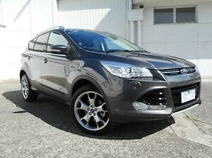 2015 Ford Kuga TF MY15 Titanium PwrShift AWD Grey 6 Speed Sports Automatic Dual Clutch Wagon Bundoora Banyule Area Preview