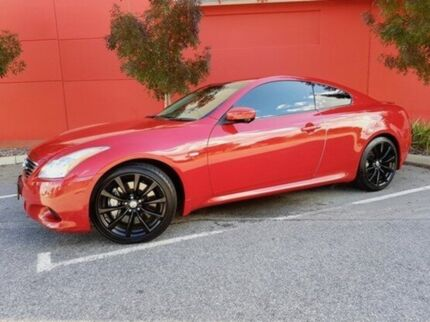 2008 Nissan Skyline CKV36 370GT Type SP Red 5 Speed Sports Automatic Coupe East Perth Perth City Area Preview