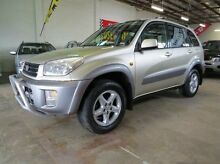 2001 Toyota RAV4 ACA21R Cruiser Silver 5 Speed Manual Wagon Fyshwick South Canberra Preview