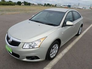 2012 Holden Cruze JH Series II MY13 CD Silver 6 Speed Sports Automatic Sedan Hyde Park Townsville City Preview