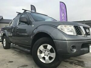 2010 Nissan Navara D40 ST-X King Cab Grey 6 Speed Manual Cab Chassis Invermay Launceston Area Preview