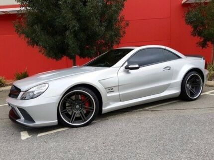 2004 Mercedes-Benz Sl600 R230 Silver 5 Speed Sports Automatic Roadster
