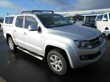 2013 Volkswagen Amarok 2H MY13 TDI420 4Motion Perm Highline Silver 8 Speed Automatic Utility Bunbury Bunbury Area Preview