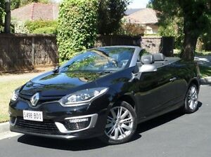 2014 Renault Megane III E95 Phase 2 GT-Line Cpe Cabrio Black 6 Speed Constant Variable Convertible Medindie Gardens Prospect Area Preview