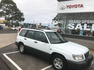 2002 Subaru Forester 79V MY02 Limited AWD White 5 Speed Manual Wagon Mornington Mornington Peninsula Preview