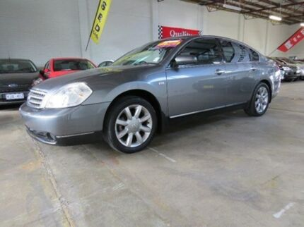 2005 Nissan Maxima J31 MY05 ST-L Brilliant Silver 4 Speed Automatic Sedan Fyshwick South Canberra Preview