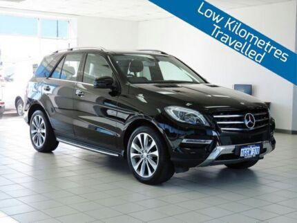 2014 Mercedes-Benz ML 166 350 CDI Bluetec (4x4) Black 7 Speed Automatic Wagon
