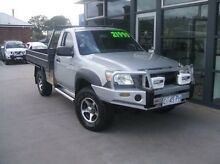 2007 Mazda BT-50 DX Silver 5 Speed Manual Cab Chassis Launceston Launceston Area Preview