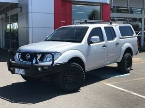 2013 Nissan Navara D40 S6 MY12 ST Silver 5 Speed Sports Automatic Utility Meadow Heights Hume Area Preview