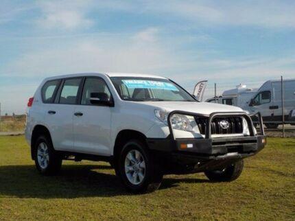 2011 Toyota Landcruiser Prado KDJ150R GX Glacier White 6 Speed Manual Wagon Pakenham Cardinia Area Preview