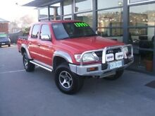 2003 Toyota Hilux VZN167R MY02 SR5 Red 5 Speed Manual Utility Launceston Launceston Area Preview
