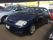 2006 Toyota Corolla ZZE122R 5Y Ascent Blue 4 Speed Automatic Sedan Maidstone Maribyrnong Area Preview