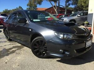 2009 Subaru Impreza G3 MY10 WRX AWD Grey 5 Speed Manual Sedan Melville Melville Area Preview