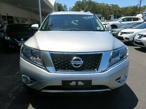 2016 Nissan Pathfinder R52 MY16 ST X-tronic 2WD Silver 1 Speed Constant Variable Wagon Coffs Harbour Coffs Harbour City Preview