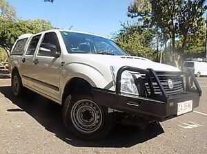 2008 Holden Rodeo RA MY08 LX Crew Cab White 5 Speed Manual Utility Stuart Park Darwin City Preview