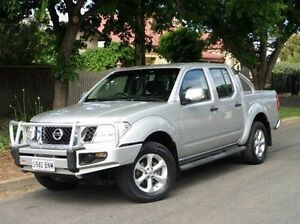 2013 Nissan Navara D40 S6 MY12 ST Silver 6 Speed Manual Utility Medindie Gardens Prospect Area Preview