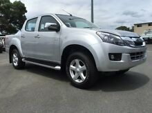 2016 Isuzu D-MAX MY15 LS-U Crew Cab Silver 5 Speed Manual Utility West Mackay Mackay City Preview
