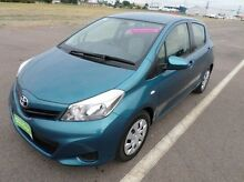 2014 Toyota Yaris  Green Automatic Hatchback Hyde Park Townsville City Preview