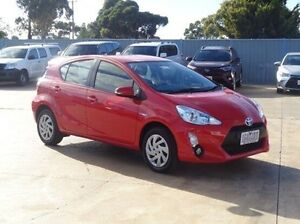 2015 Toyota Prius c NHP10R MY15 Hybrid Cherry Continuous Variable Hatchback Melton Melton Area Preview
