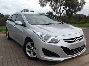 2013 Hyundai i40 VF2 Active Tourer Silver 6 Speed Sports Automatic Wagon Ingle Farm Salisbury Area Preview